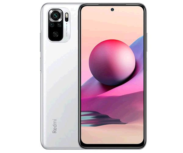"""Smartphone movil  Xiaomi Redmi Note 10S Pebble White 6.43"""" Fhd+ 120Hz - Octacore Helio G95 - 6Gb - 64Gb - 64-8-2-2-13 mpx"""