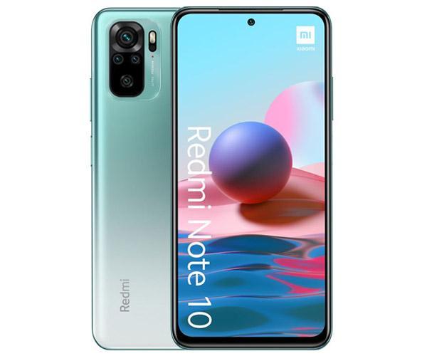 """Smartphone Xiaomi Redmi Note 10 Lake Green 6.43"""" - Octacore Snapdragon SDM678 - 4Gb - 128Gb - 48-8-2-2-13 mpx"""