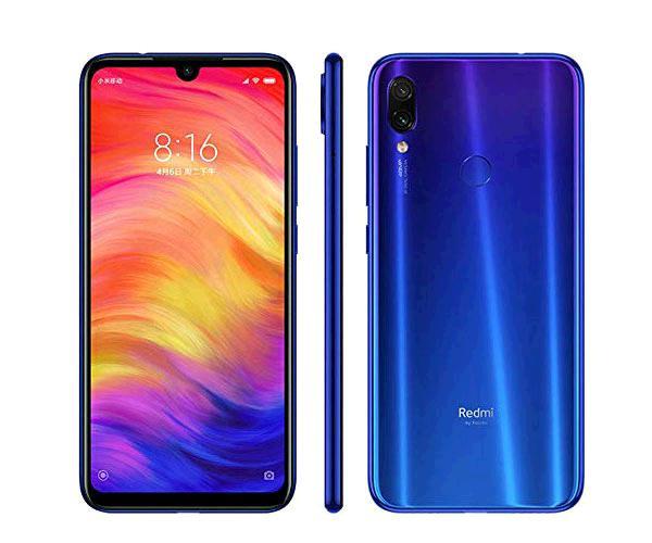"""SMARTPHONE XIAOMI REDMI NOTE 7 NEPTUNE BLUE 6.3"""" - OCTACORE 660 - 3GB - 32GB - 13-48-5 MPX"""