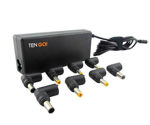 Cargador portatil universal 75w automatico - 8 puntas + Power Bank 2200Mah - Ten go
