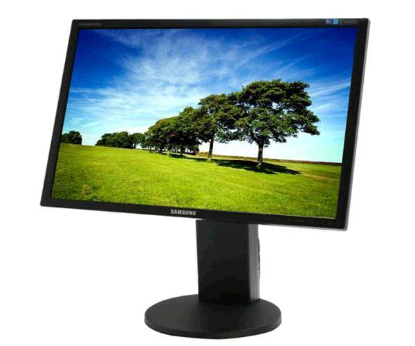 Monitor Ocasión LCD Samsung 24 pulg. 2443bw  fullhd - DVI - VGA