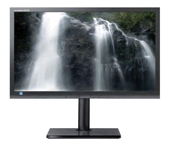 Monitor Ocasión LCD 22 pulgadas samsung nc220 - Dvi - Vga - Grado B