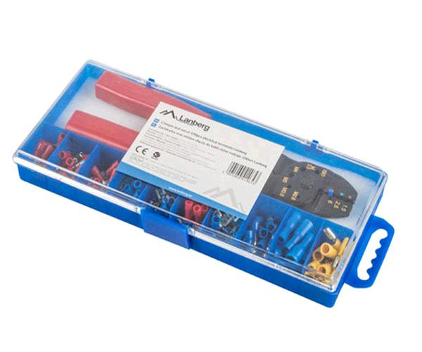 Kit Crimpadora + conectores electricos Lanberg - scc01-tcc-it101