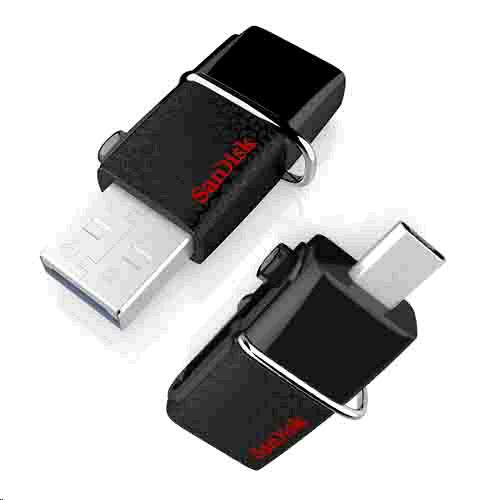 PENDRIVE SANDISK ULTRA 16GB DUAL USB 3.0 NEGRO + OTG MICROUSB