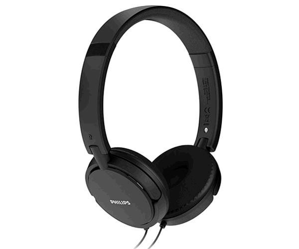 Auriculares con microfono Philips Shl5005-00  - Jack 3.5mm - Negro