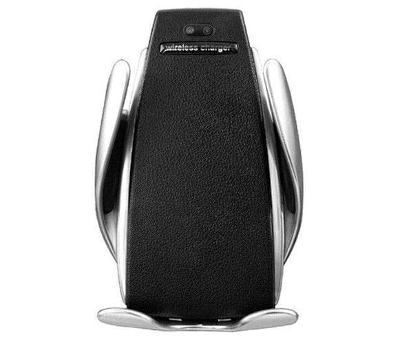 Soporte Smartphone Smart S5 + Cargador Qi - 10w - Rotacion 360 Grados