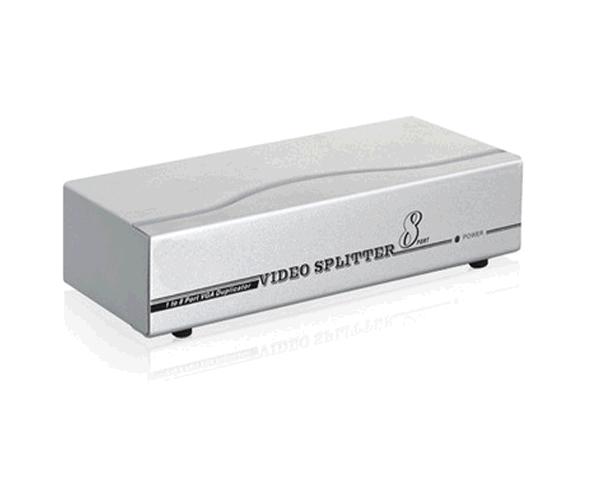 SPLITTER VGA 8 MONITORES X 1 PC CON ALIMENTACION 10.25.0008