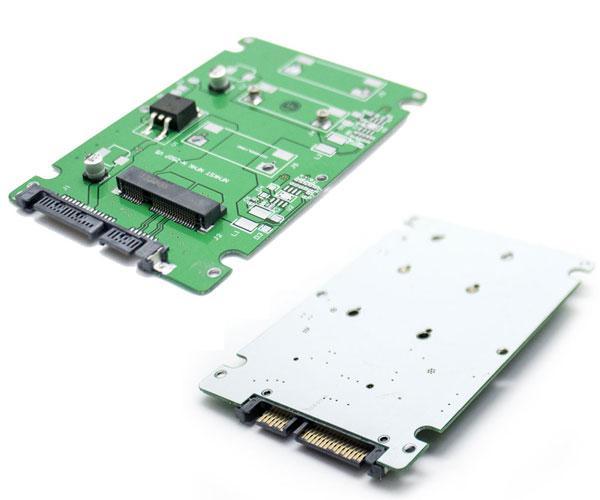 Adaptador convertidor msata SSD a sata 2.5