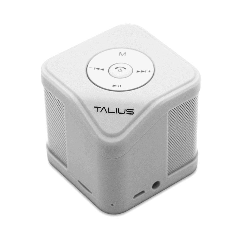 Altavoz Talius cube - 3w - Bluetooth - FM - sd - blanco