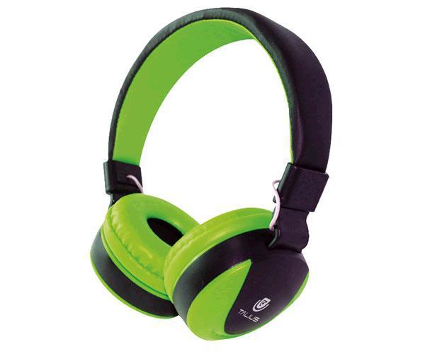 Auriculares Talius tal-Hph-5005 con Microfono verde