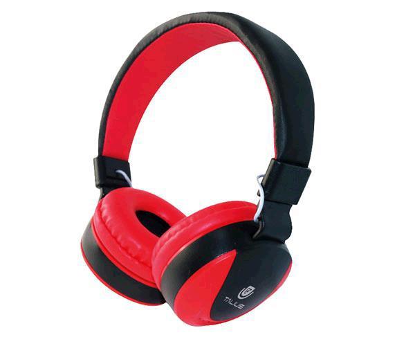 Auriculares Talius tal-Hph-5005 con Microfono rojo