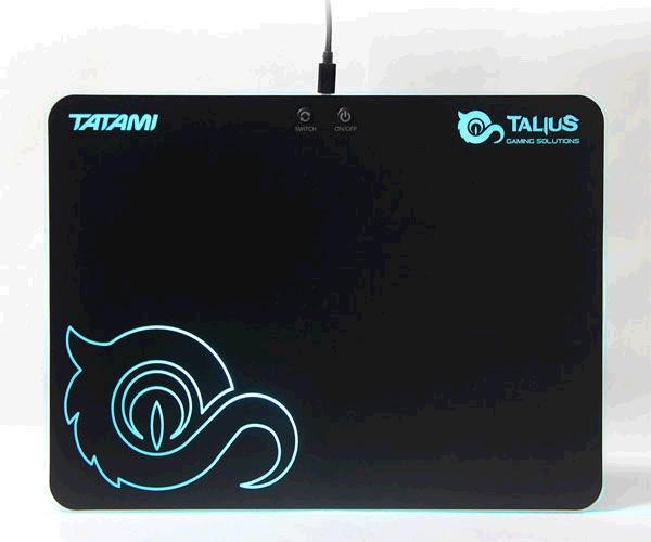 Alfombrilla gaming Talius tatami retroiluminada Rgb