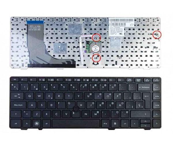 Teclado Hp Probook 6360b + Pointstick - negro