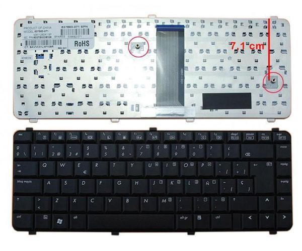 Teclado Hp 610 - cq510 - cq515 - cq610