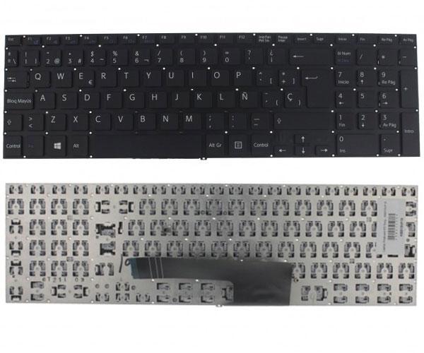 Teclado Sony Svf15 Negro - sin marco