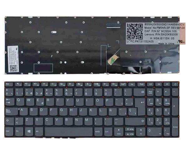Teclado Lenovo IdeaPad 330-15ich - Gris - sin marco