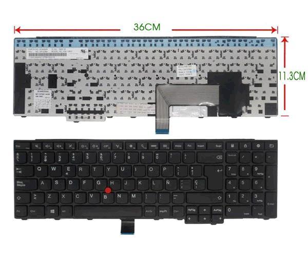 Teclado Lenovo Thinkpad T540 - W540  - E540 - E550 - E555 - E531