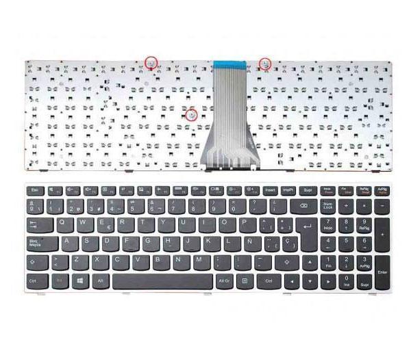 Teclado Lenovo IdeaPad g50-45 -g50-70 -z50-70 -b50-70 - Marco Plata