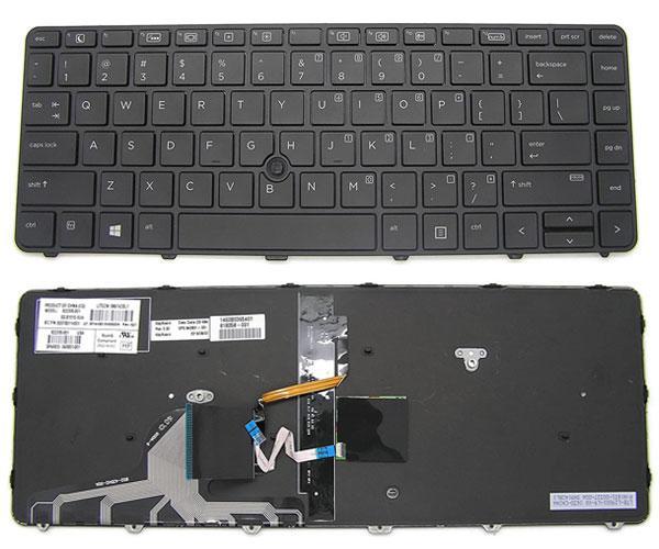 Teclado Hp Probook 640 G2 - 430 G3 - 440 G3 - Elitebook 820 G3 - Retroiluminado + Poinstick 826367-071 - Ingles - Uk