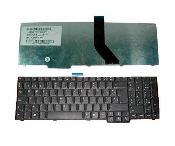 TECLADO ACER ASPIRE 7000 SERIES - 7730G - 7730ZG - 9400 CABLE LARGO