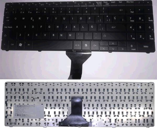 TECLADO P.BELL EASYNOTE ML61 - ML65 - ETNA GL - VERSION 2