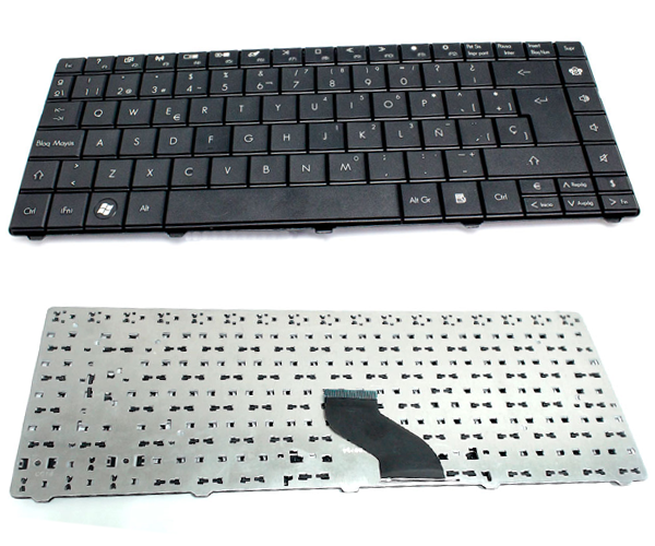 Teclado Acer 3810 - 4810 version packard bell