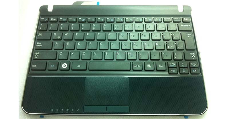 TECLADO ASUS N210 + PALMREST + TOUCHPAD
