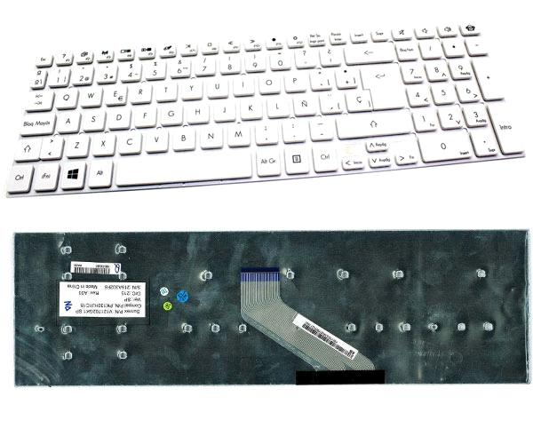 Teclado Acer Aspire 5830t - e5-571 - p.bell ts11 - lv11 - lk11 - Blanco