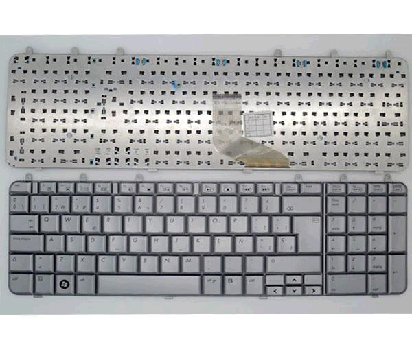 TECLADO HP PAVILION DV7-1000 - DV7-1100 - PLATA