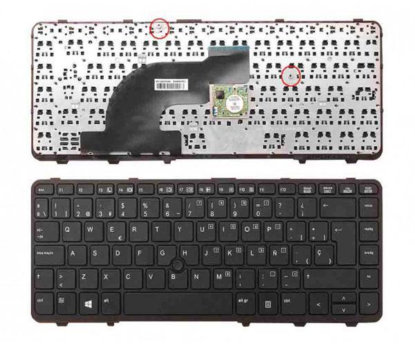 Teclado Hp Probook 640 g1 - 645 g1 - negro