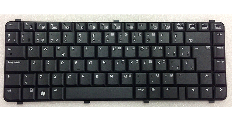 Teclado Hp 6530s-6531-6730s-6535s-6735s negro
