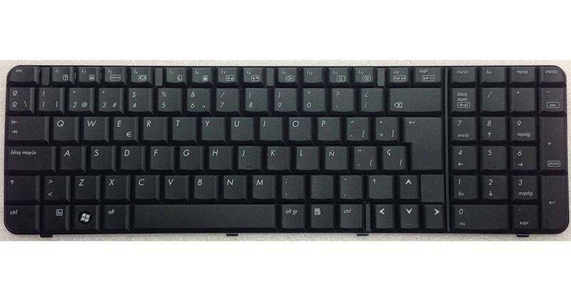 Teclado Hp 6820 - 6820s  negro