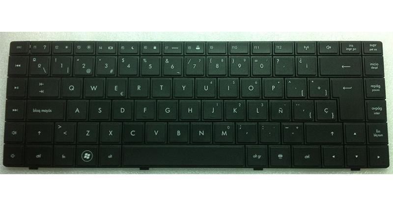 Teclado Hp Compaq 620 - cq620 - cq621 - negro