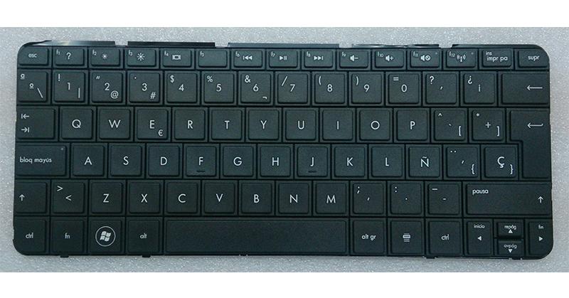 Teclado Hp-Compaq  Mini 110-3500 series - 210-2000 series - 210-3000 - 110-3600