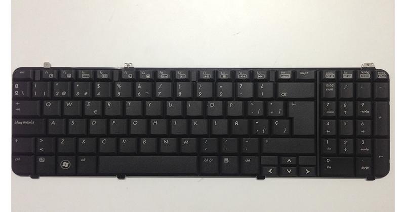 Teclado Hp dv6-1000 - dv6-2000 series negro