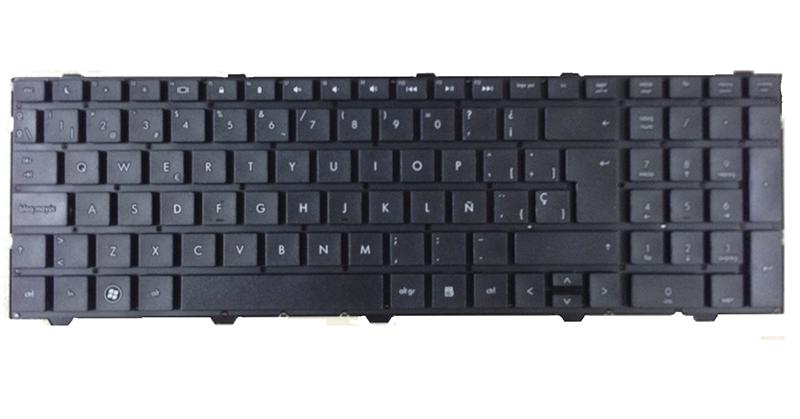 Teclado Hp Probook 4540 - 4540s negro sin marco
