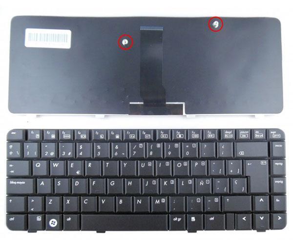 Teclado Hp 510 series - 6520 - 6520s negro