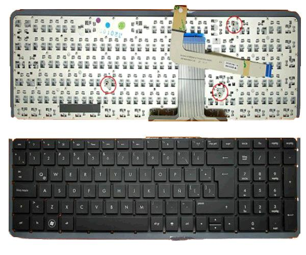 TECLADO HP ENVY 17-3000 - 17-3200 - 17T-3000