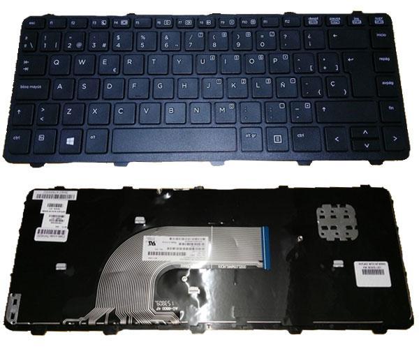 Teclado Hp Probook 430 g2 - 440 g1 - 445 g1 - 640 g1 - negro con marco