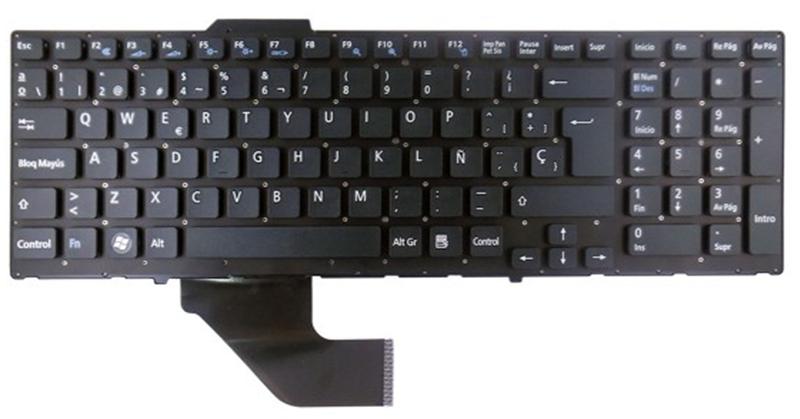 Teclado Sony Vaio vpcf - vpcf11 - vpcf12 - vpcf13
