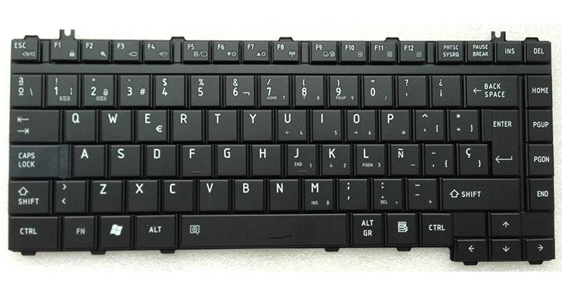 Teclado Toshiba A200 - M200 - L200- L300- F40  negro