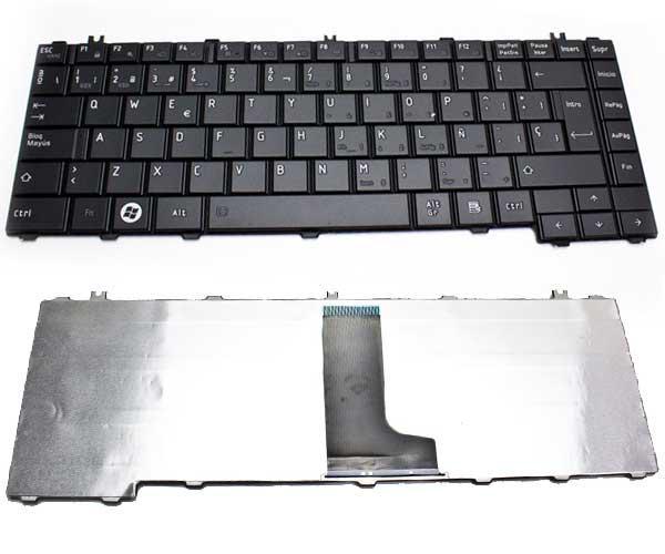 Teclado Toshiba l600-l600d-l630-l640-l635-c600d-c640 negro