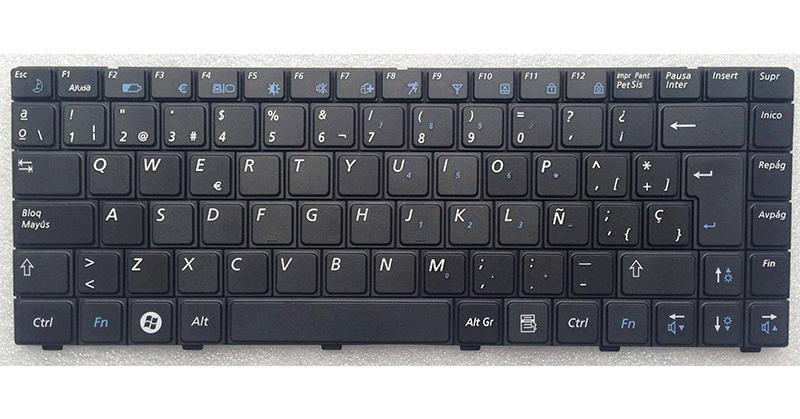 Teclado Samsung np-r520 - r520 - r522 negro