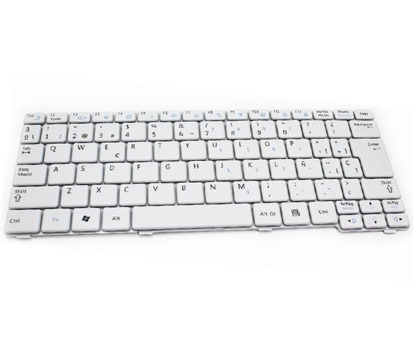Teclado Samsung n120 - n128 - n140 - n145 - n148 - n150 - n310 blanco