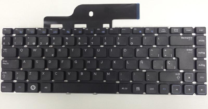 Teclado Samsung np300 - np300e5a - np300v5a negro