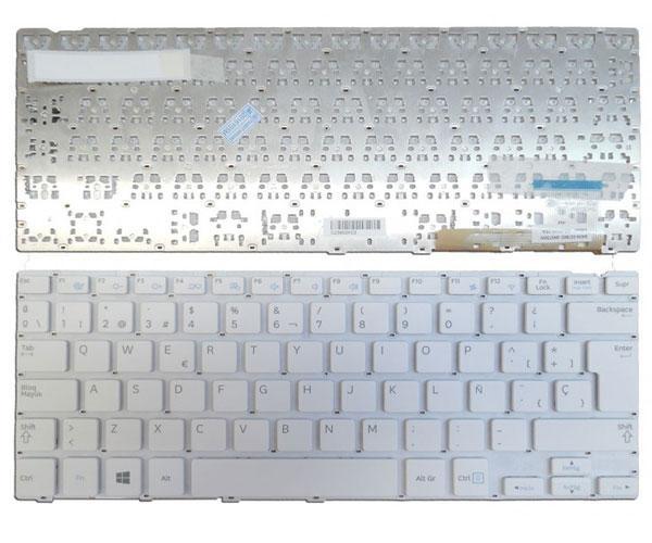 Teclado Samsung np915s3g  blanco sin marco