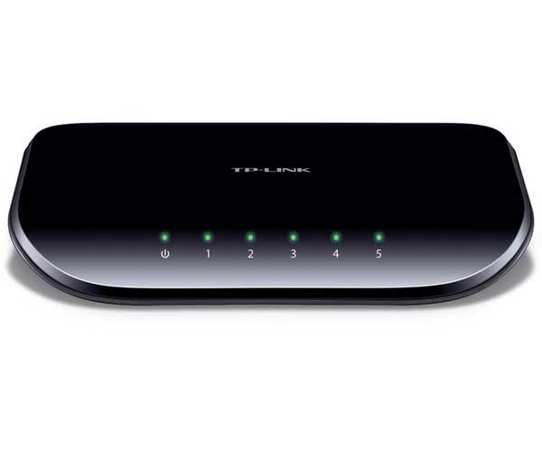TP-Link switch 5p Gigabit 10-100-1000 - Tl-sg1005d