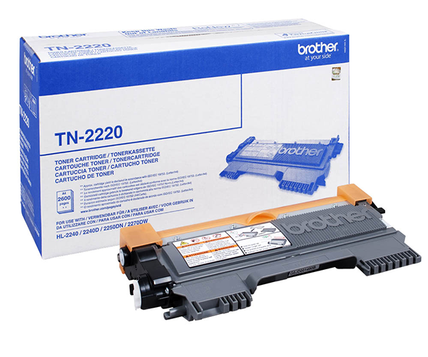 TONER ORIG. BROTHER TN2220 HL2240/2250DN 2600P
