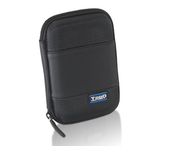 Funda HDD - SSD 2.5 tooq negra tqbc-e2501