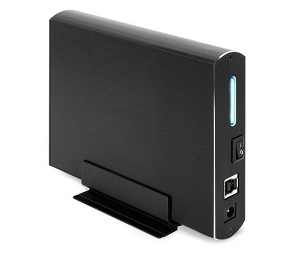 Caja externa 3.5 USB 3.0-3.1 Gen 1 sata tooq negra tqe-3531b